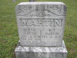 Betty <i>Hawkins</i> Martin