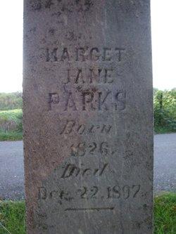 Marget Jane <i>Martin</i> Parks