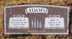 Gertrude P. Adams