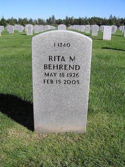 Rita M Behrend