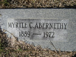 Myrtle C. Abernathy
