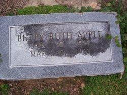Betty Ruth Apple