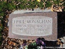 J Paul Monaghan