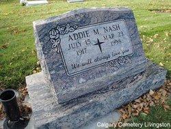 Addie M Nash