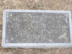Julia <i>Breckinridge</i> Bowyer