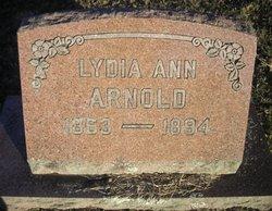 Lydia Ann <i>Worthington</i> Arnold