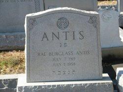 Rae <i>Burglass</i> Antis