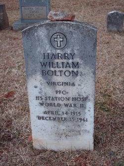 Harry William Bolton