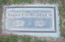 Harriet E McPherson