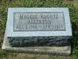 Maggie <i>Koontz</i> Allerton