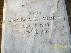 Winnie <i>Eason</i> Adamson