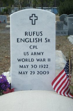Corp Rufus Tom English, Sr