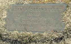 Sgt Allen A Greenstreet