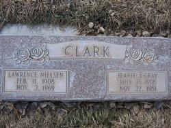 Jeanie J. Nettie <i>Gray</i> Clark