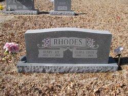 Clara Edith <i>Bruton</i> Rhodes