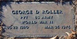 George D Roller