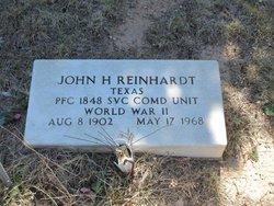 John H Reinhardt