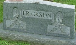 Annie Anine <i>Jensen</i> Erickson