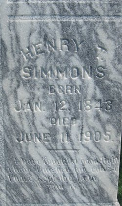 Rev Henry Thomas Simmons