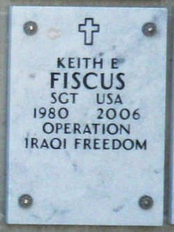 Sgt Keith E. Fiscus