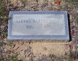 Aletha <i>Barnes</i> Davis