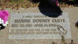 Louella Maxine <i>Downey</i> Clute