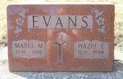 Hazel Elizabeth Evans