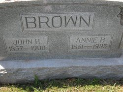 Annie Bee <i>Waters</i> Brown