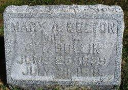 Mary A <i>Bolton</i> Bollin