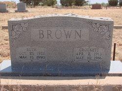 Crockett C Brown