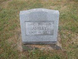 Isabel <i>Hodgson</i> Ashley