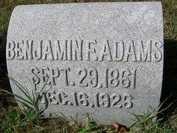 Benjamin F. Adams