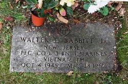 PFC Walter Lee Babbitt, Jr