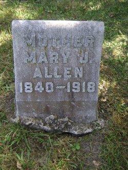 Mary Jane <i>Stephenson</i> Allen