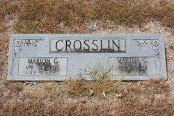 Marion Gordon Crosslin