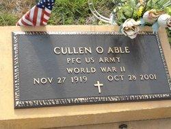 PFC Cullen O. Able
