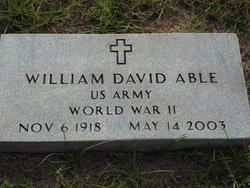 William David Able