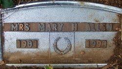 Mary Ethel <i>Hamby</i> Allen