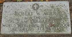 Corp Robert W. Ager