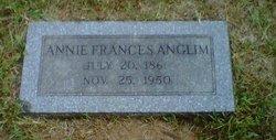 Annie Frances <i>Packard</i> Anglim