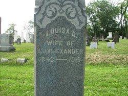 Lousia Agnes <i>Pickens</i> Alexander