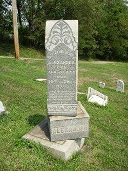 Rev Athelbert James Alexander
