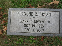 Blanche Eleanor <i>Burkart</i> Bryant