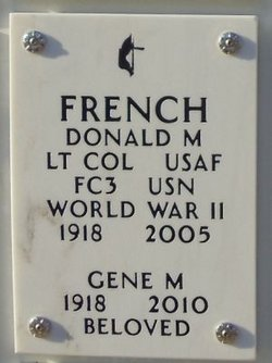 Donald M French