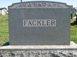 Frances J <i>Hocker</i> Fackler