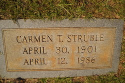 Carmen <i>Thomas</i> Struble