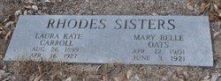 Mary Belle <i>Rhodes</i> Oates