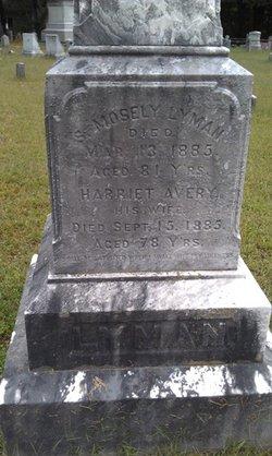 Harriet <i>Avery</i> Lyman