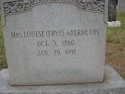 Louise <i>Frye</i> Abernethy