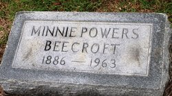 Minnie <i>Powers</i> Beecroft